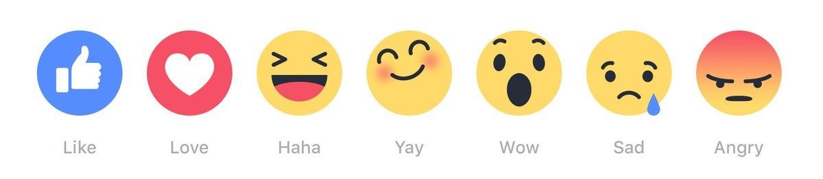 Facebook Dislike button emoji