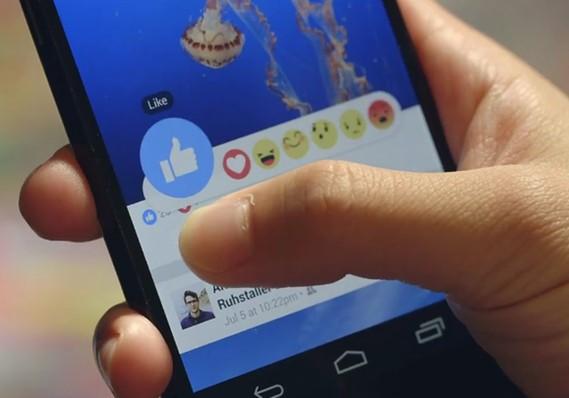 Facebook dislike button emojis