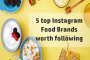 top Instagram food brands