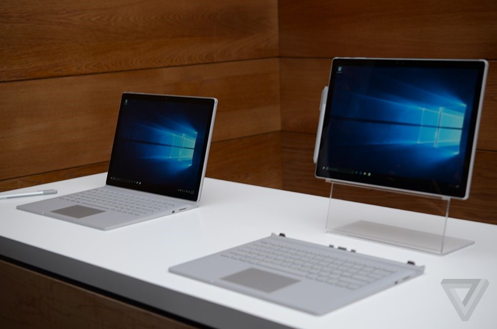 surface book by microsoft
